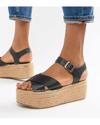 Truffle Collection - Flatform Sandals - Lyst