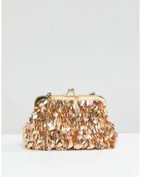 Park Lane - Handmade Pouch Clutch Bag - Lyst