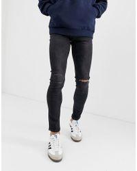 26ff4f97b80 HERA Spray-on Ultra Rip Slim-fit Skinny Jeans in Black for Men - Lyst