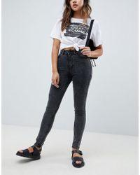 Cheap Monday - High Waist Skinny Jean - Lyst