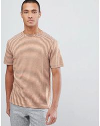 SELECTED - Striped T-shirt - Lyst
