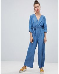 Urban Bliss - Wide Leg Jumpsuit - Lyst