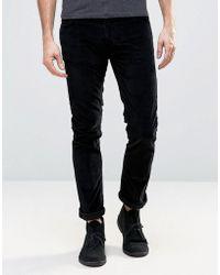 Nudie Jeans - Co Grim Tim Black Cord - Lyst