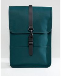 Rains - 1280 Mini Backpack In Bottle Green - Lyst