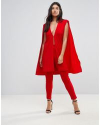 Club L   High Waisted Tailored Trouser   Lyst