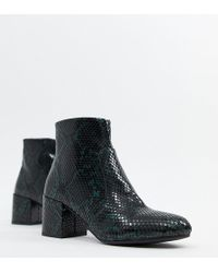 d3562e6c46e4 Lyst - Sam Edelman Rylan Snake-effect Leather Over-the-knee Boots
