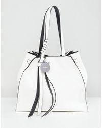 Faith - Tie Detail Tote Bag - Lyst