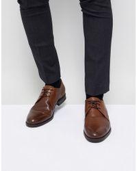 Jack & Jones - Premium Leather Derby Shoes - Lyst