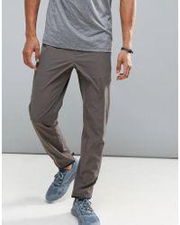 Perry Ellis - 360 Sports Jogger Distance Stripe Waist In Dark Grey - Lyst