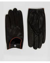 Barneys Originals - Barneys Driving Gloves In Black - Lyst