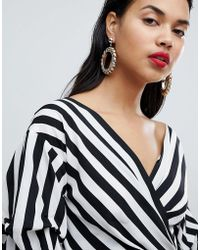 Ivyrevel - Statement Drop Hoop Earrings - Lyst