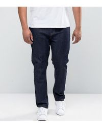 ASOS - Plus Skinny Jeans In Indigo - Lyst