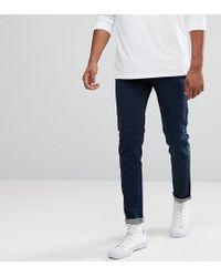Bellfield - Tall Skinny Jeans In Indigo - Lyst