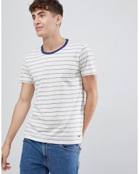 Esprit - T-shirt With Multi Stripe - Lyst