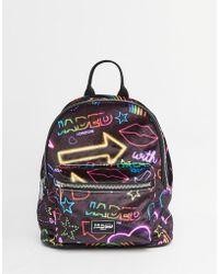 Jaded London - Velvet Neon Signs Backpack - Lyst