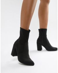 ASOS - Emotion Sock Boots - Lyst