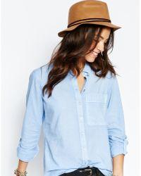 Esprit - Felt Trilby Hat - Lyst