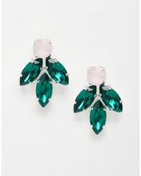 Krystal - Swarovski Crystal Cluster Earrings - Lyst