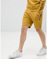 D-Struct - Short With Satin Leg Stripe - Lyst