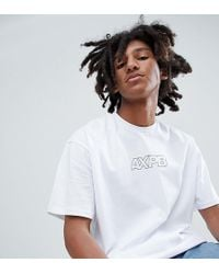 Pull&Bear - Exclusive Oversizet-shirt In White With Logo - Lyst