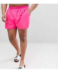 1de76b9098 Nike Swift Stripe Swim Shorts In Grey Ness7444 013 in Gray for Men - Lyst