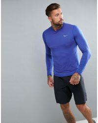 Saucony - Running Freedom Long Sleeve Top In Purple Sam800018-lak - Lyst