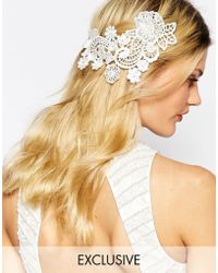 Olivia The Wolf - Lace Hair Comb - Lyst
