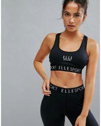 ELLE Sport - S Underband Support Bra - Lyst