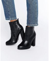 Blink - High Block Heeled Boots - Lyst