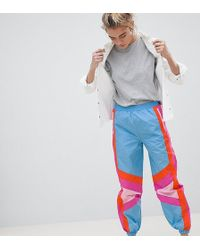 ASOS - Design Colour Block Shell Jogger Trousers - Lyst