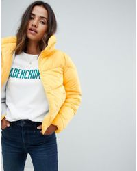 Abercrombie & Fitch - Oversized Quilted Jacket - Lyst