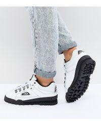 Fila - Trail Blazer Boots In White - Lyst