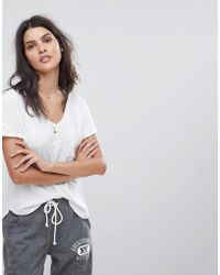 Abercrombie & Fitch - Voop Pocket T Shirt In White - Lyst