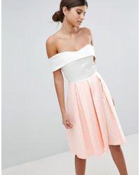 Vesper - 2-in-1 Skater Dress - Lyst