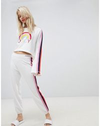 Juicy Couture - Juicy By Side Stripe Joggers - Lyst