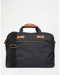 ASOS - Holdall With Contrast Trims - Lyst