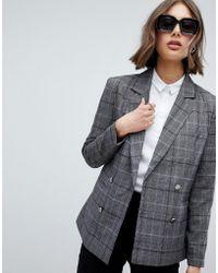 Vero Moda - Pinstripe Blazer - Lyst