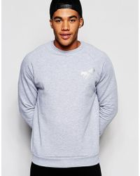 Abuze London - Sweatshirt Reflective Wasp - Lyst