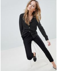Oasis - Tailored Trousers - Lyst