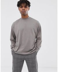98e11b5a Lyst - Ellesse Amica Turtleneck Long Sleeve Tee in Black for Men