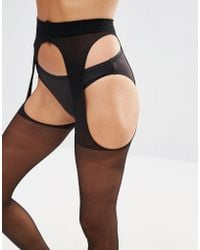 Ann Summers - Suspender Glossy Tight - Lyst