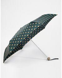 Cath Kidston - Minilite 2 Button Spot Forest Umbrella - Lyst