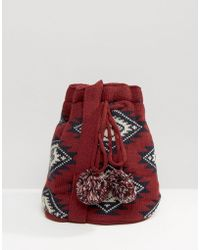 Hat Attack - Knit Slouchy Bag - Lyst
