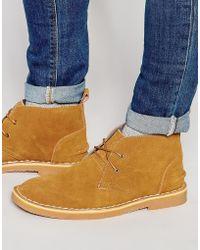 Bellfield   Chukka Boots In Suede   Lyst