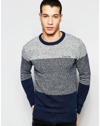 Firetrap Stripe Knitted Sweater