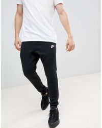 various colors 0b11a 1c170 Nike - Cuffed Club jogger In Black 804408-010 - Lyst