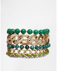 Pilgrim - Statament Bracelet - Lyst