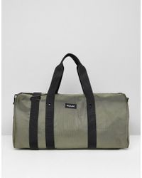 French Connection - Nylon Duffle Bag In Khaki - Lyst