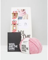 Wool And The Gang - Wool & The Gang Diy Lil Snood Kit - Lyst