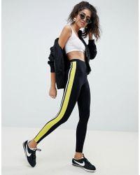 6b804ac022f37f ASOS - leggings With Double Side Stripe - Lyst